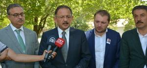 Çevre ve Şehirclik Bakanı Özhaseki, Şırnak'ta