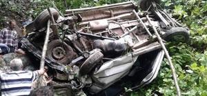 Giresun'da minibüs şarampole devrildi: 4 ölü, 4 yaralı