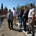 Burdur'da TOKİ konutlarının temeli atıldı