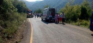 Kastamonu'da otomobil uçuruma yuvarlandı: 1 ölü