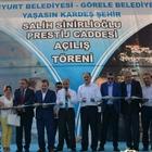 """Görele'de """"Salih Sinirlioğlu Prestij Cadde"""" açıldı"""