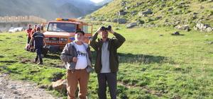 Kayıp keçiler için AFAD seferber oldu