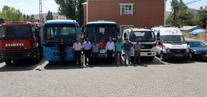 Hamur Belediyesinde yeni araç tanıtımı