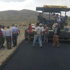 Eleşkirt'te asfalt çalışmaları