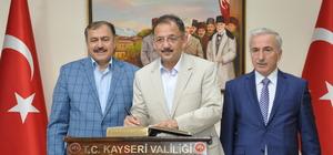 Eroğlu ve Özhaseki Kayseri'de