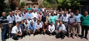 AK Parti Milletvekilleri Konuk ve Şeker, ilçeleri gezdi