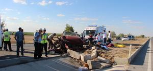 Konya'da trafik kazası: 3 ölü, 2 yaralı