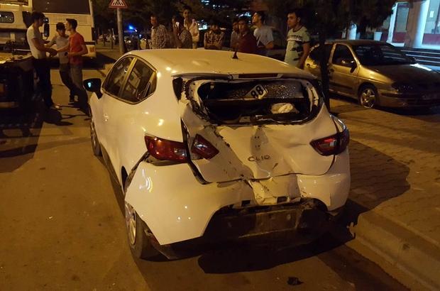 Karaman'da trafik kazası: 4 yaralı