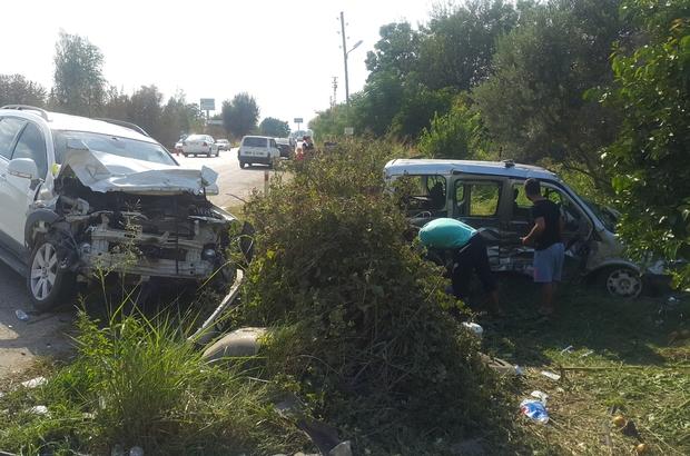 Osmaniye'de trafik kazası: 1 ölü, 4 yaralı