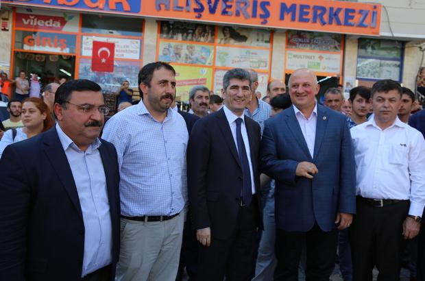 Türkiye birincisi halk oyunları ekibine karşılama