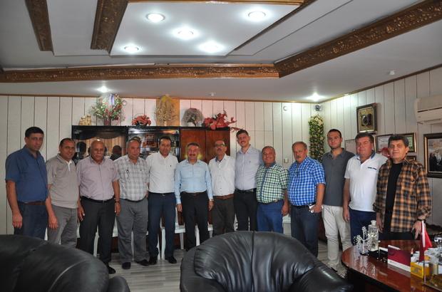 Milletvekili Özkan Tarsus'ta temaslarda bulundu