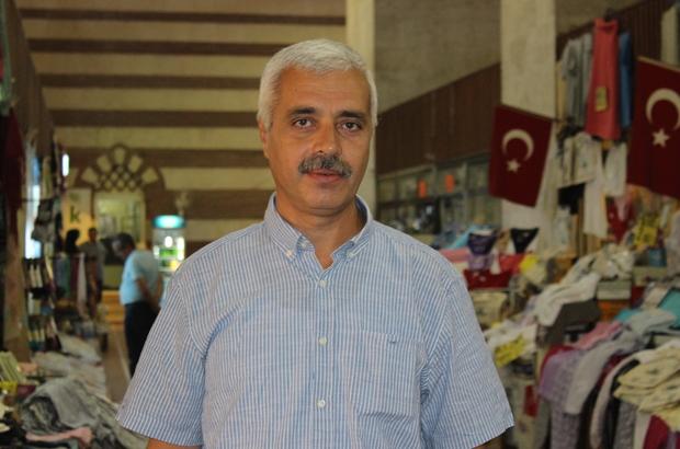 Edirne'deki tarihi çarşılarda bayram alışverişi başladı