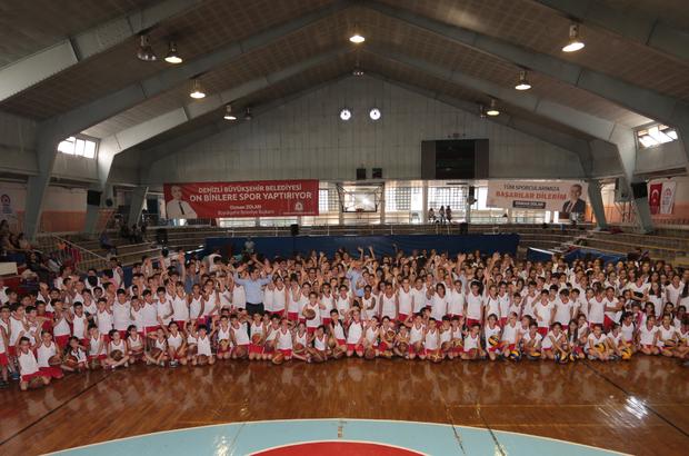 Yaz spor okullarından 12 bin kişi yararlandı