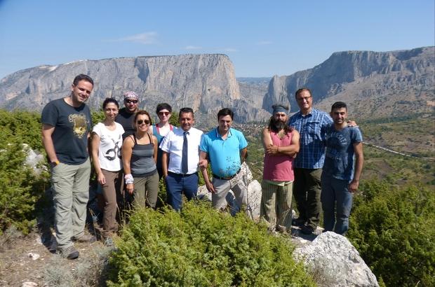 Dağcıların vazgeçmediği mekan: Harmankaya Kanyonu