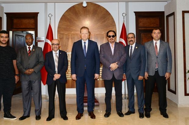 Arap Turizm Örgütü Başkanı El Fehaid, Vali Yavuz'u ziyaret etti