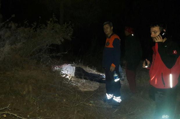 Manisa'da erkek cesedi bulundu
