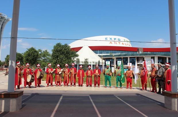 Beyşehir Belediyesi Mehter Takımı EXPO 2016 Antalya'da