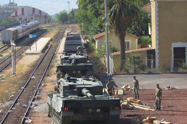 Askeri birliklerinin şehir dışına taşınması