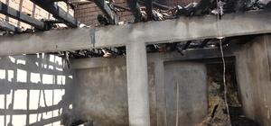 Yozgat'ta ahır yangını