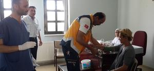 Karakeçili'de sağlık taraması yapıldı