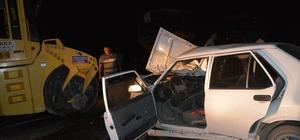 Burdur'da trafik kazası: 1 ölü, 4 yaralı