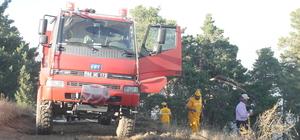 Yozgat'taki orman yangını söndürüldü