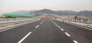 Mudanya Kavşağının şehir merkezi istikameti trafiğe açıldı