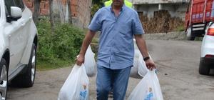 Zonguldak'ta kurban derisi bağışı