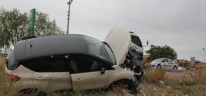 Aksaray'da trafik kazaları: 18 yaralı