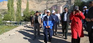 Kalkınma Bakanı Elvan, Karaman'da