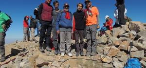 Aydos Gaziler Zirve Tırmanışı gerçekleştirildi
