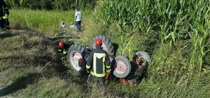 Acıpayam'da traktör kazası: 1 ölü