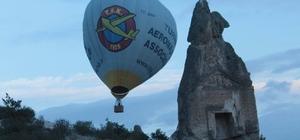 Frig Vadisi tanıtımı için balon uçuruldu