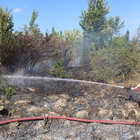 İnebolu'da tarla yangını