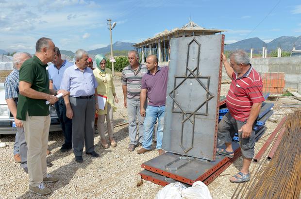 Batı Antalya'nın en büyük camisinin inşaatı sürüyor