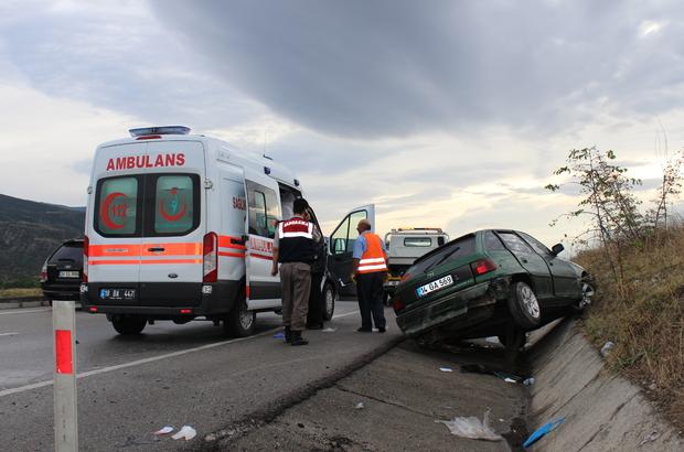 Kastamonu'da trafik kazası : 5 yaralı