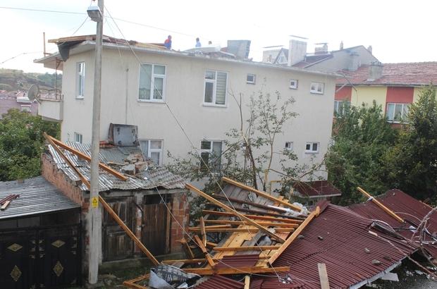Kastamonu'da rüzgar hayatı olumsuz etkiliyor