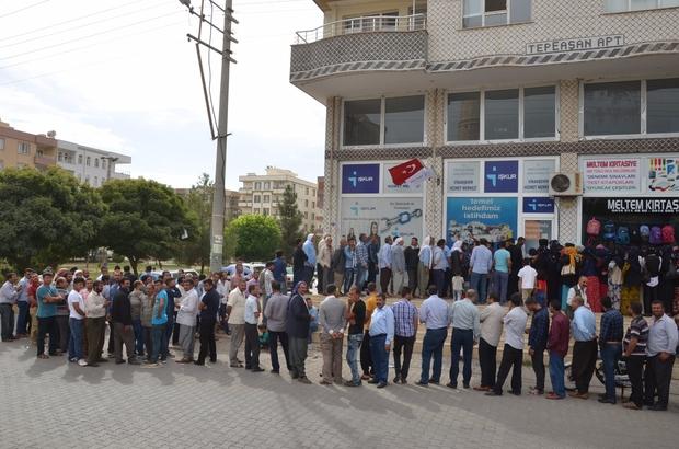 Viranşehir'de 120 işçi alınacak