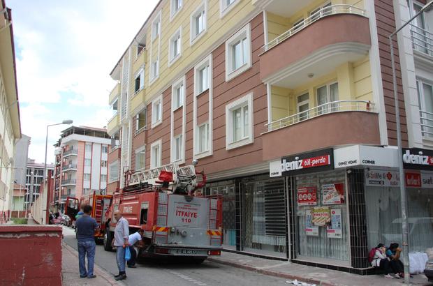Samsun'da elektrikli şofben patladı