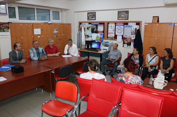 Belediye Başkanı Salman, mezun olduğu okulu ziyaret etti