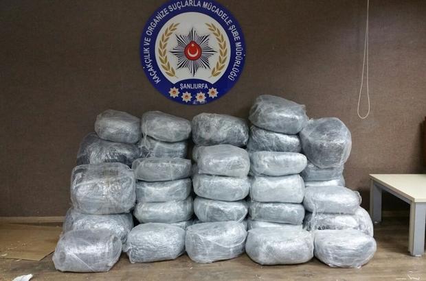 Şanlıurfa'da uyuşturucu operasyonları