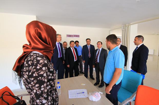 İnönü Üniversitesi Rektörü Prof. Dr. Kızılay, Darende'de