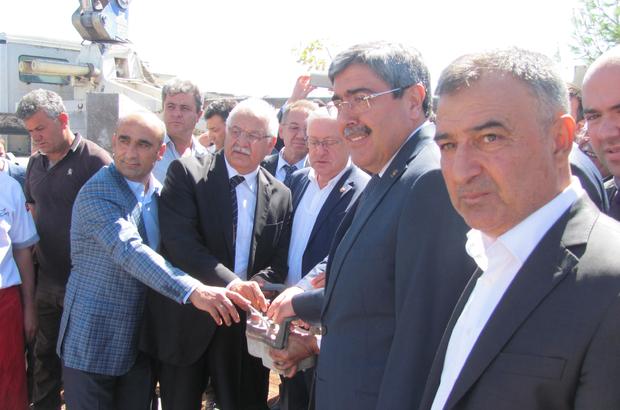 Araban Devlet Hastanesinin temel atma töreni