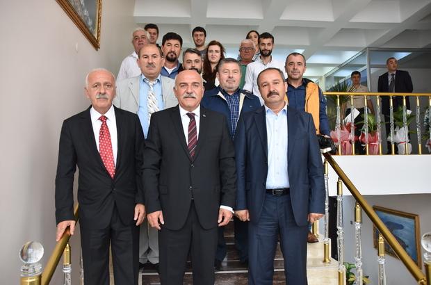 Sinop 19 Eylül Gazeteciler Cemiyetinden Vali İpek'e ziyaret