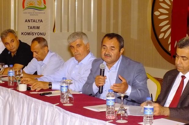 Serikte tarım komisyonu toplantısı
