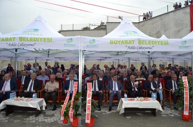 Boyabat'ta okul açılışı