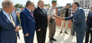Edirne Valisi Özdemir, Meriç ilçesinde incelemelerde bulundu