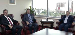 TÜ Rektörü Prof. Dr. Tabakoğlu'na ziyaretler