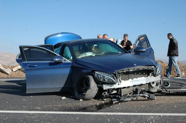 Burdur'da trafik kazası: 4 yaralı