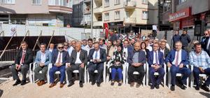 Karacabey'de 15 Temmuz Demokrasi Meydanı'nın temeli atıldı